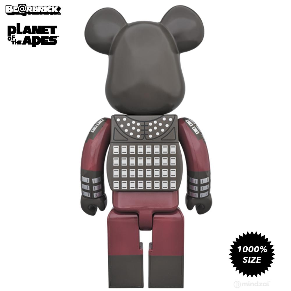 Planet of the Apes General Ursus 1000% Bearbrick by Medicom Toy