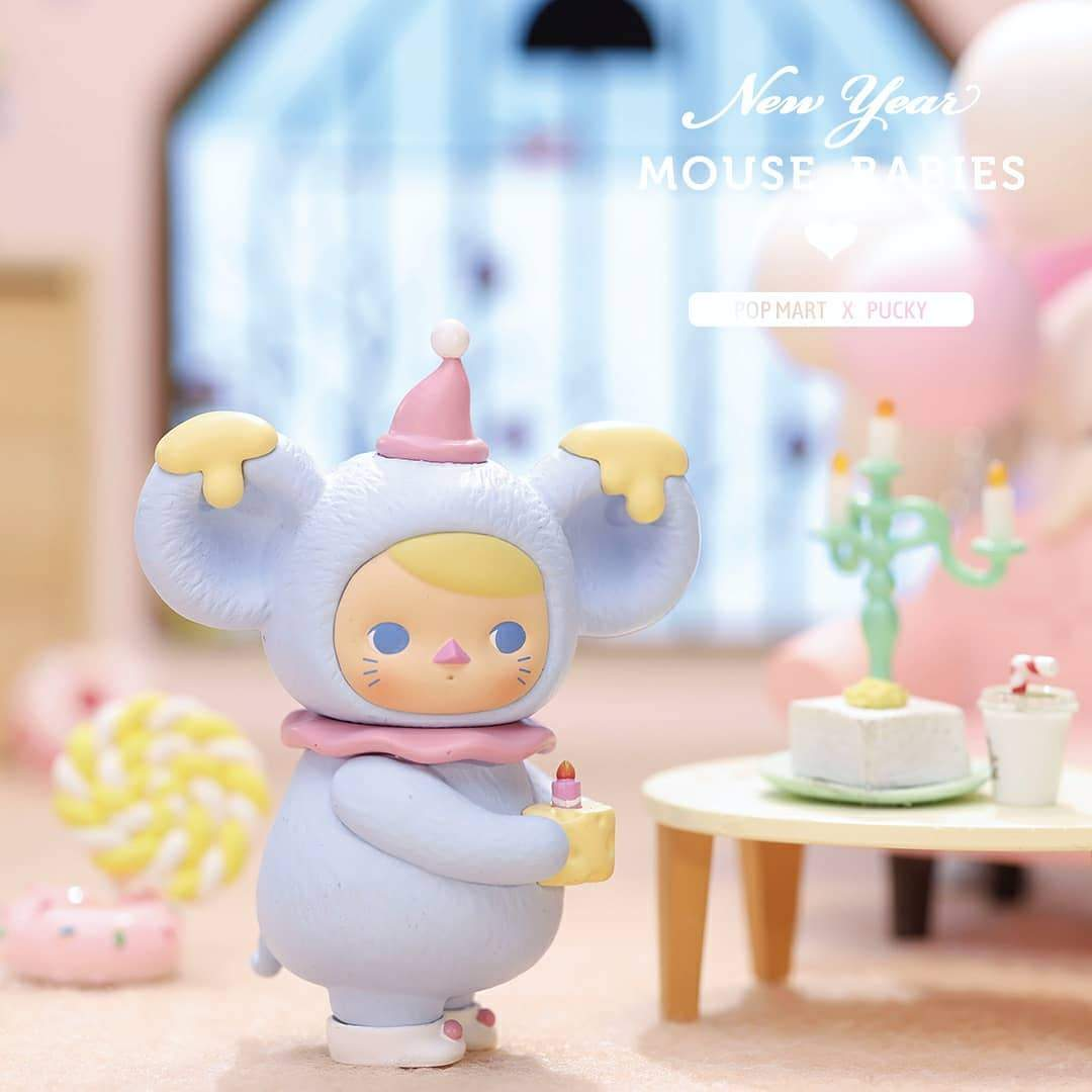 Pucky Mouse Babies New Year 2020 Set by Pucky x POP MART