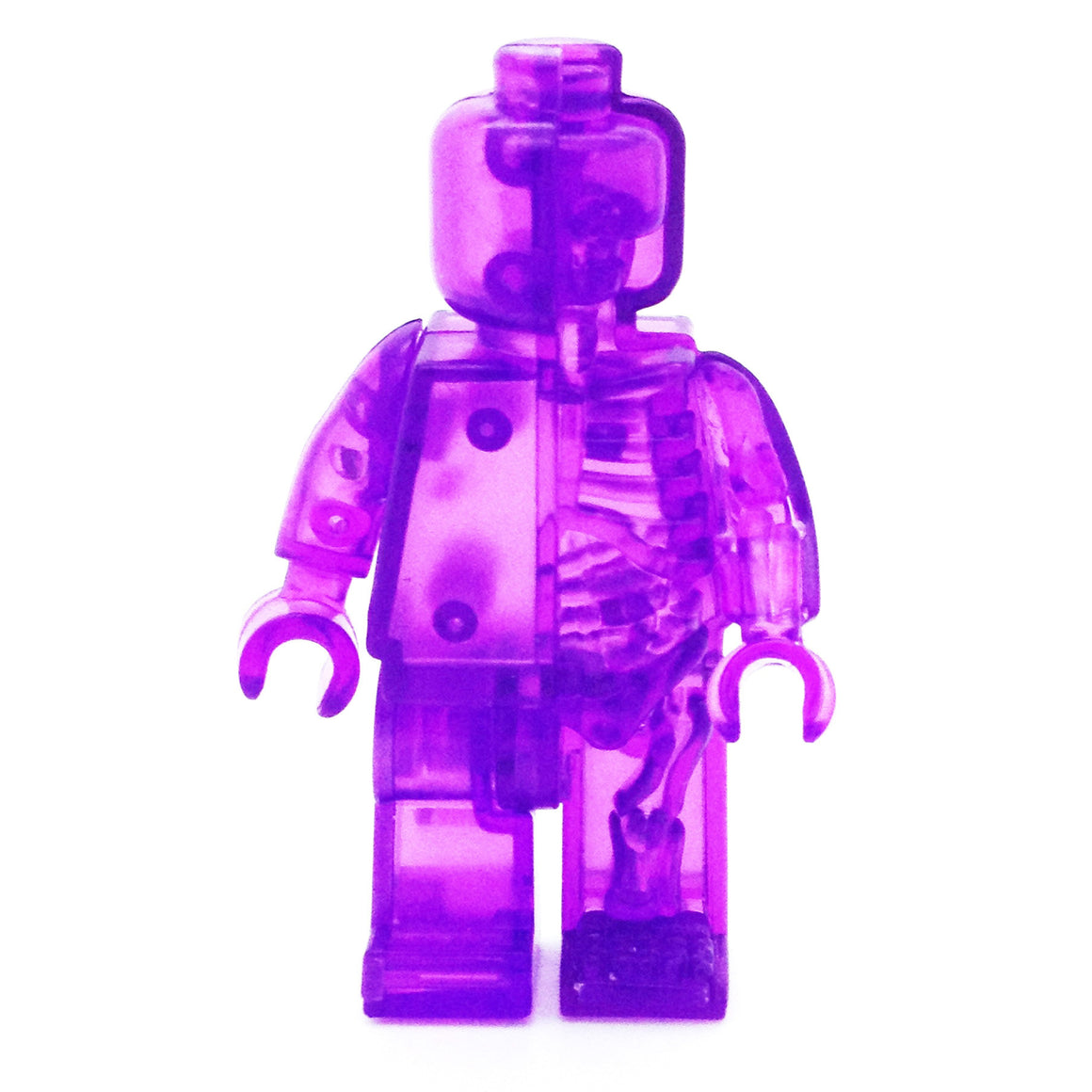 Rainbow Micro Anatomic by Jason Freeny x Mighty Jaxx - Purple - Mindzai