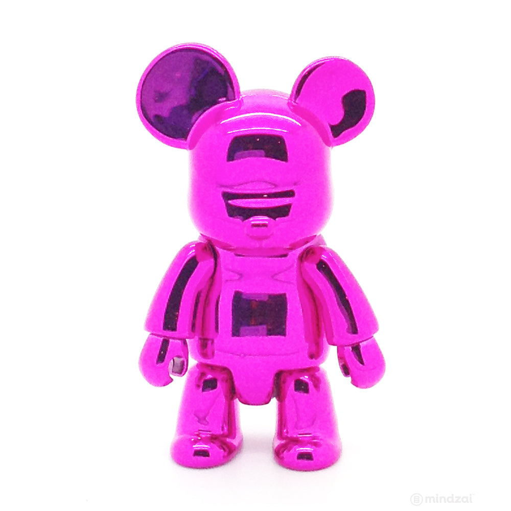 Toy2R Qee Metallic Series - Bear (Pink)