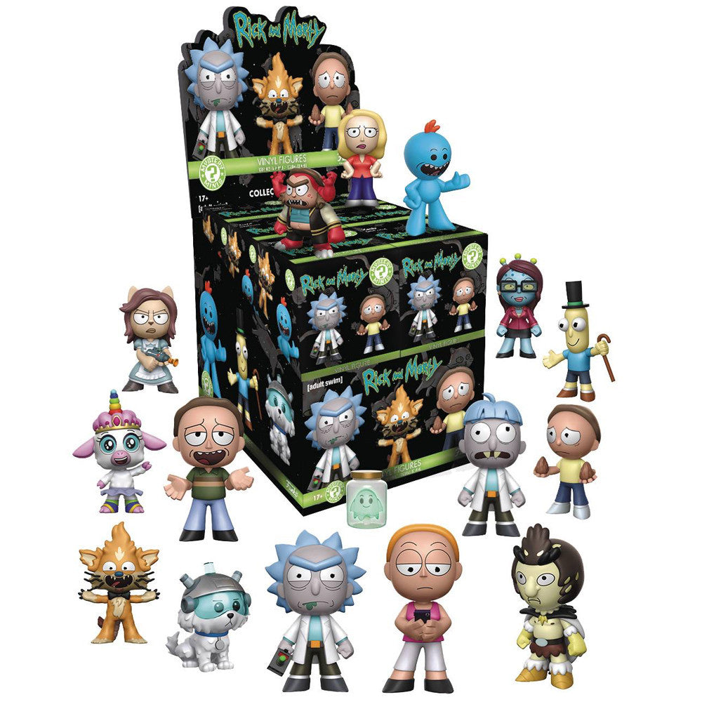 Rick and Morty Series One Mystery Minis Blind Box by Funko