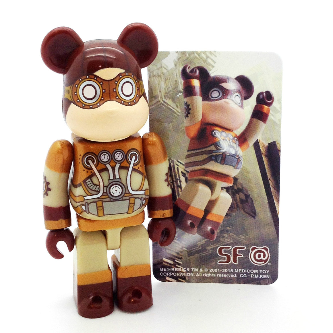 Bearbrick Series 30 - SF - Mindzai  - 1