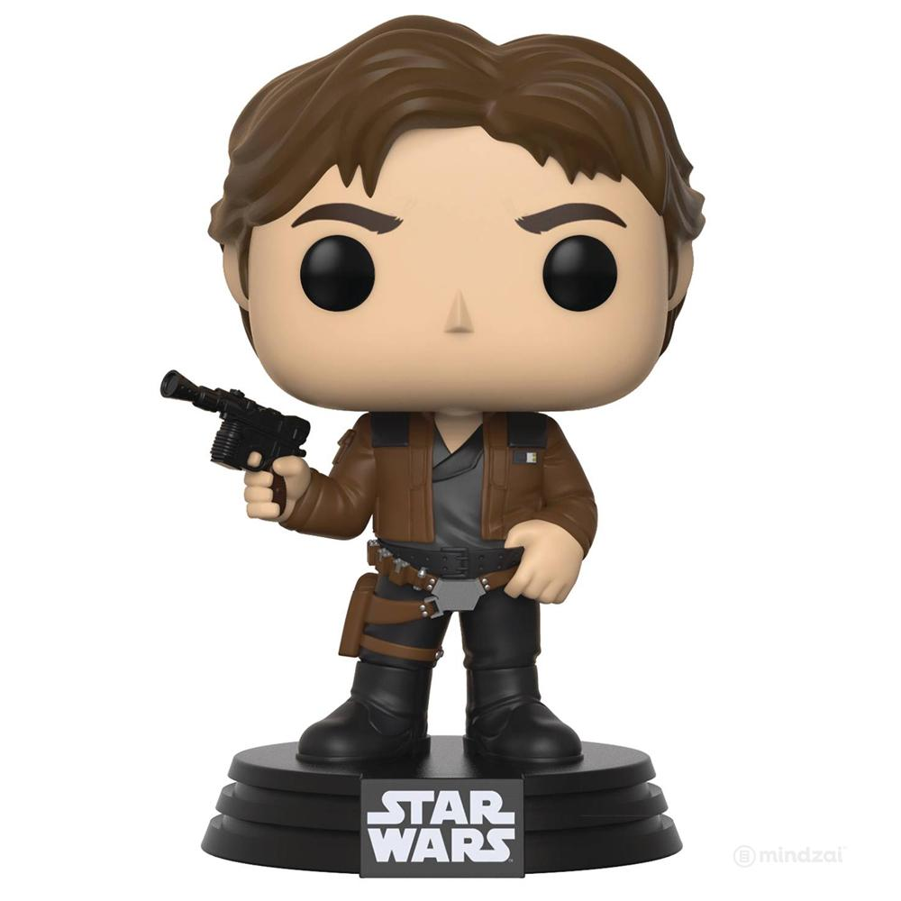 Star Wars Solo Han Solo Pop Vinyl Toy Figure by Funko