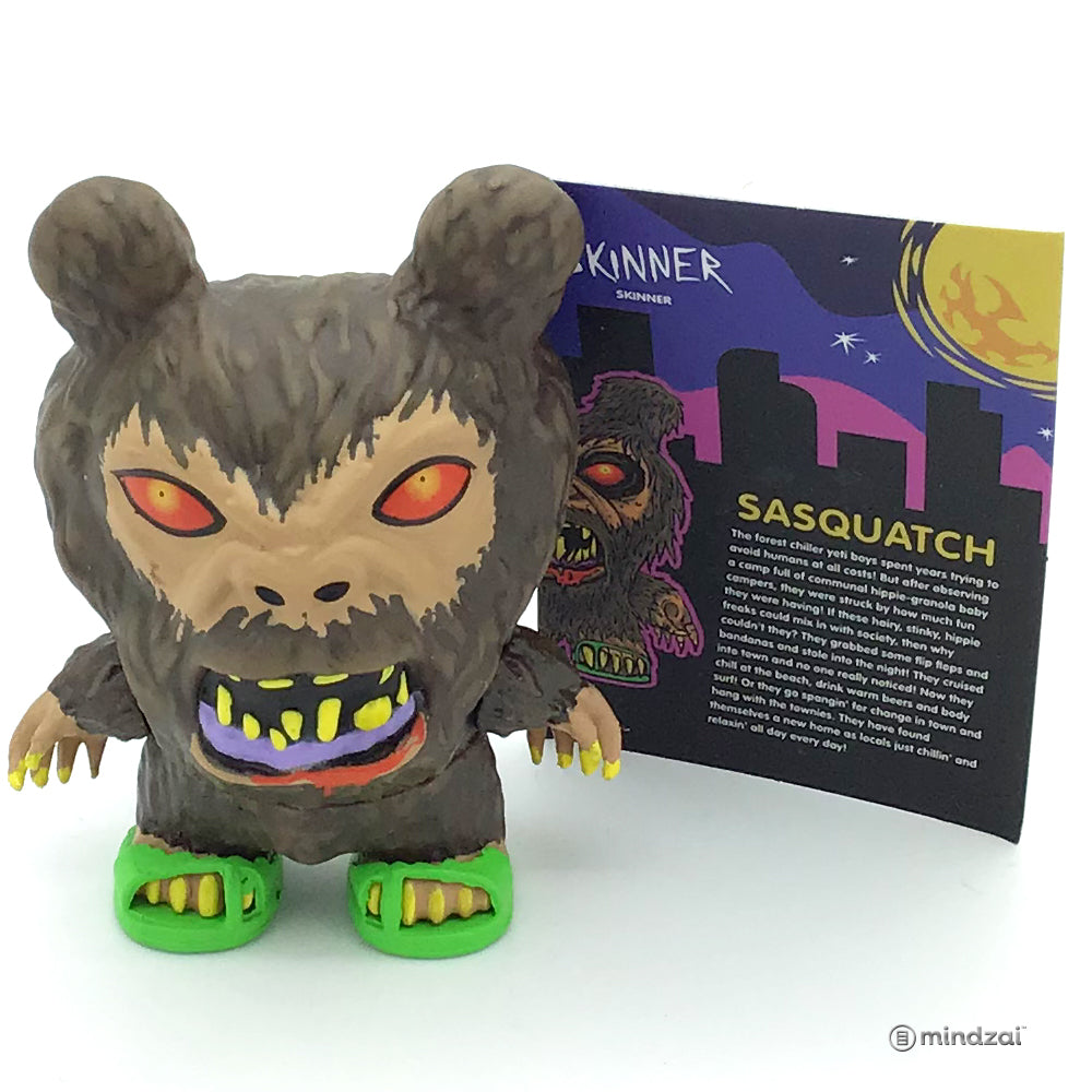 City Cryptid Blind Box Dunny Series - Sasquatch (Skinner)