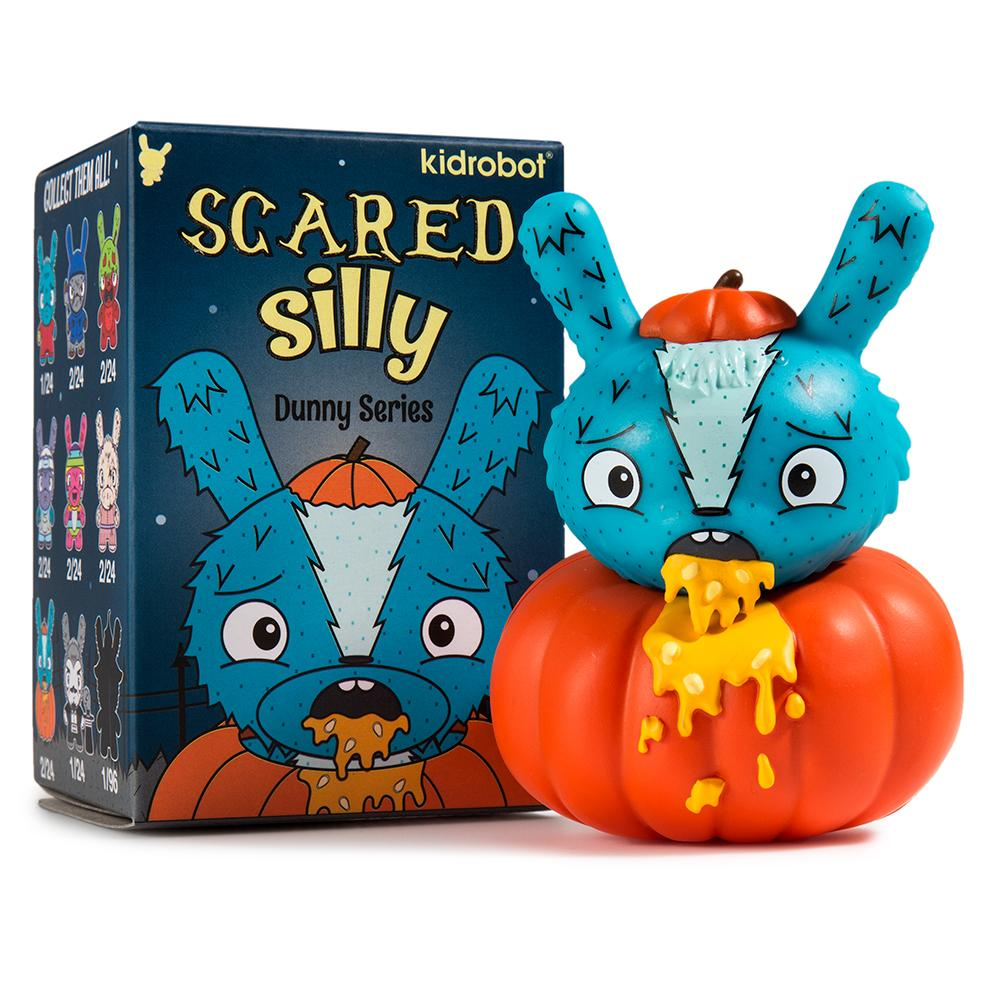 Scared Silly Dunny Series by Kidrobot x Jenn & Tony Bot