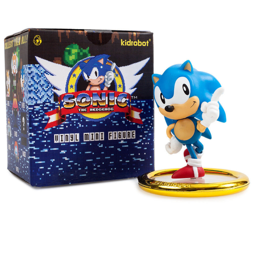 Sonic The Hedgehog Mini Series Blind Box By Kidrobot Mindzai
