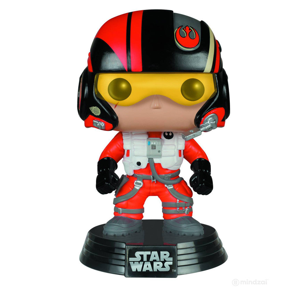 Poe Dameron Pop Star Wars The Force Awakens Vinyl Bobblehead Figure by Funko - Mindzai