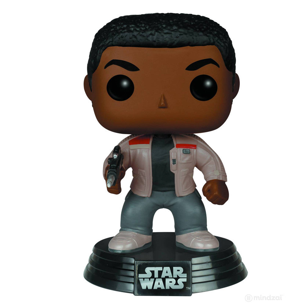 Finn Pop Star Wars The Force Awakens Vinyl Bobblehead Figure by Funko - Mindzai