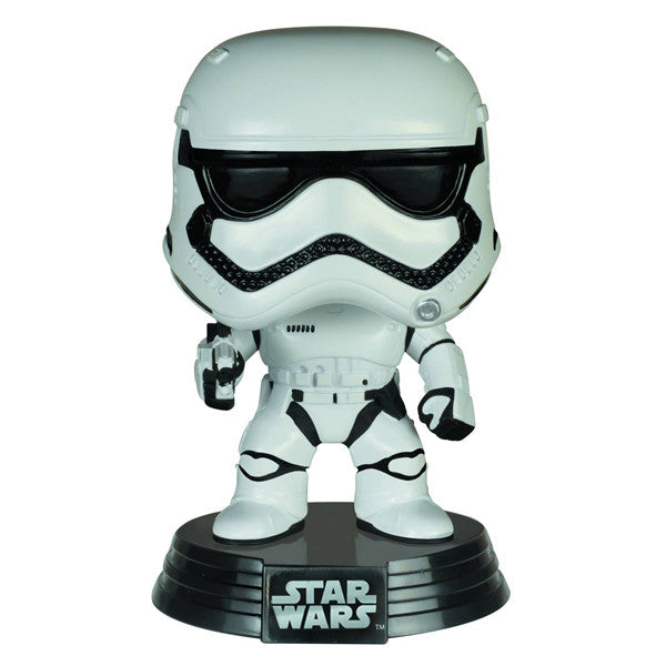 First Order Stormtrooper Pop Star Wars Vinyl Figure by Funko - Mindzai