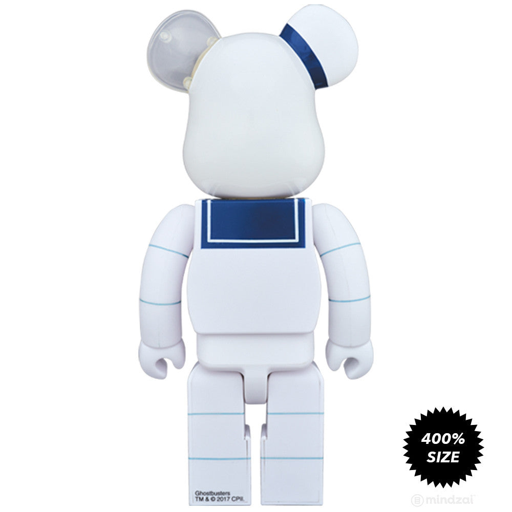 Stay Puft Marshmallow Man Ghostbusters 400% Bearbrick