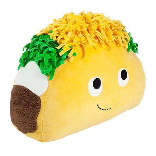 "Yummy World Taco 16"" Plush by Heidi Kenney x Kidrobot - Mindzai  - 1"