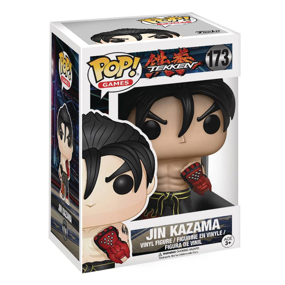 Tekken Jin POP Vinyl Figure by Funko