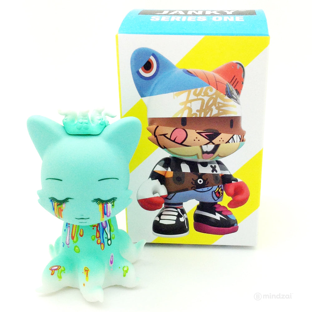 Janky Series 1 Blind Box by Superplastic - Tentaclanky Tears Kitty (Camilla D'Errico)
