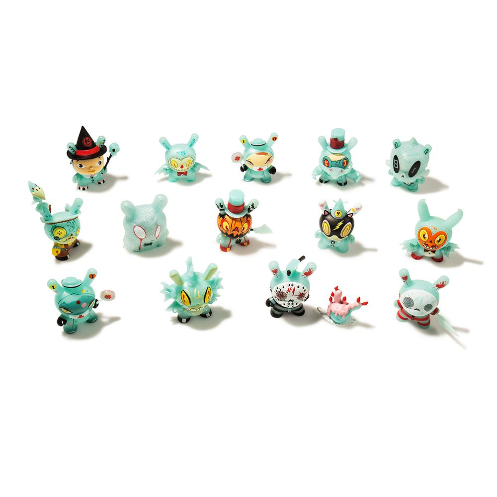 The 13 GID Dunny Blind Box Series by Brandt Peters x Kidrobot