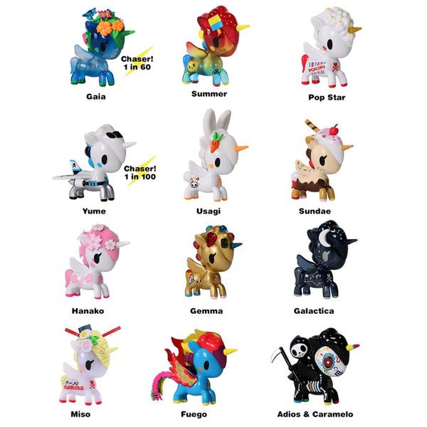 Unicorno Series 6 Blind Box By Tokidoki Mindzai