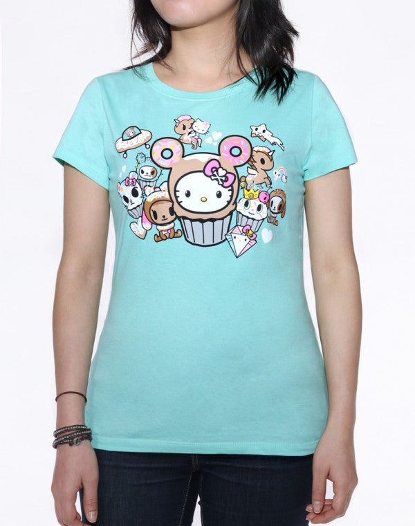 Hello Donut Kitty T-shirt by Tokidoki - Mindzai