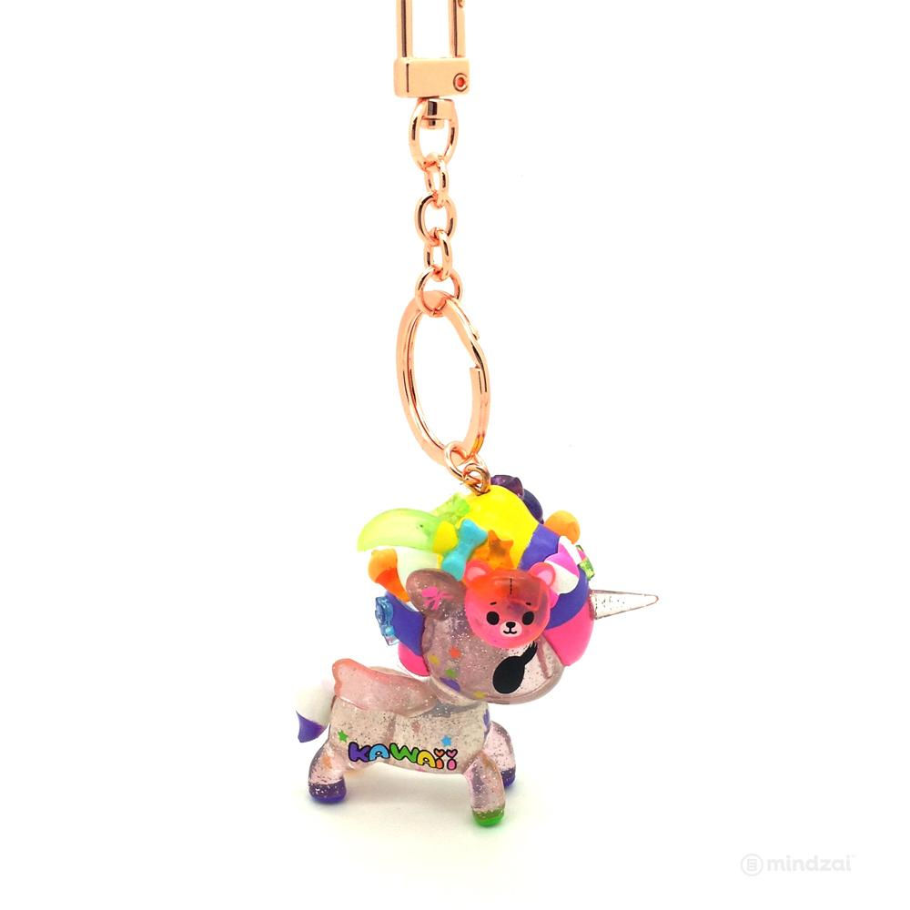 Tokimeki Unicorno with Rose Gold Keychain by Tokidoki