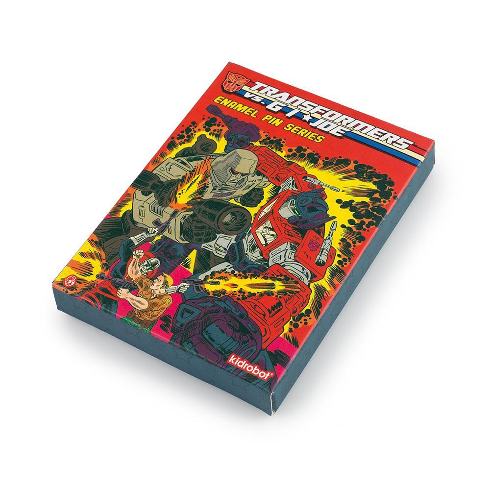 Transformers vs G.I.JOE Blind Box Enamel Pins Series