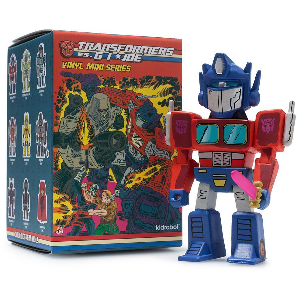 Transformers vs G.I.JOE Blind Box Mini Series - Pre-order