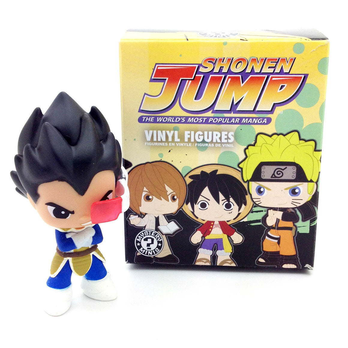Shonen Jump Best of Anime Series 2 Blind Box - Vegeta - Mindzai  - 1