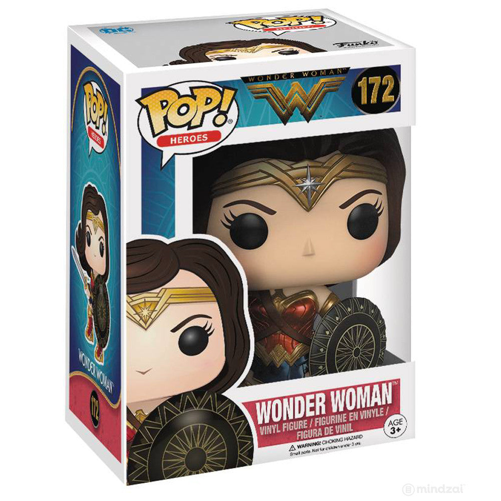 Wonder Woman Pop Vinyl Figure by Funko