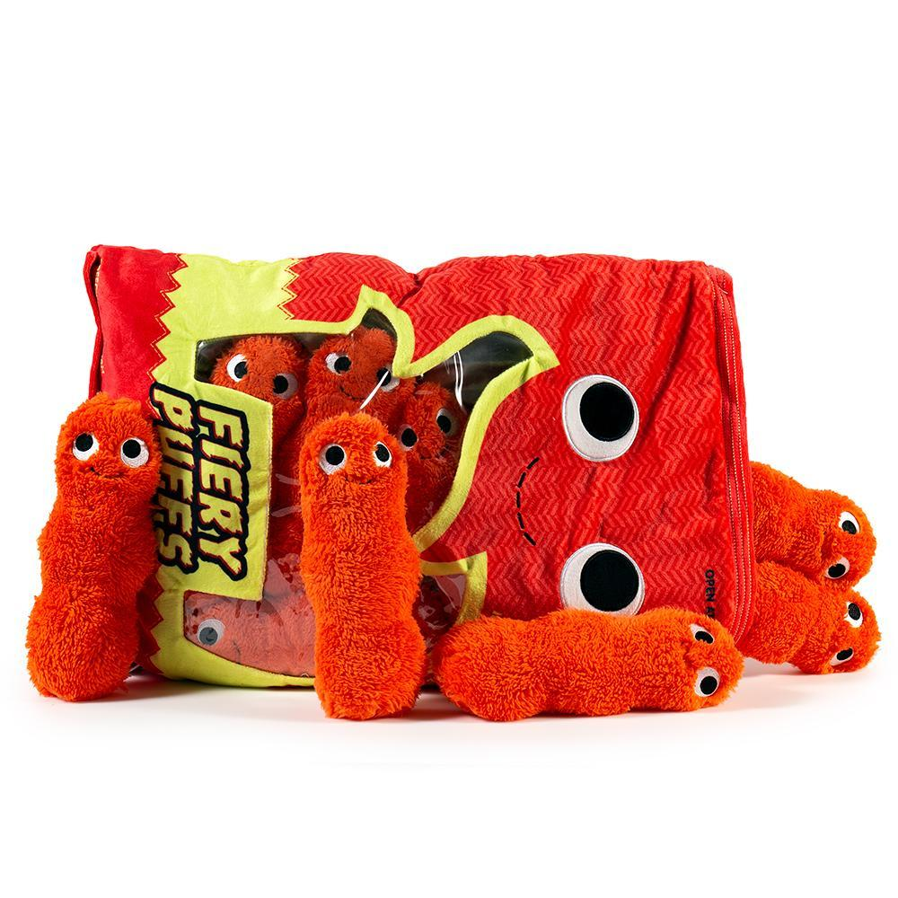 Yummy World Frye and the Fiery Puffs XL Plush Toy by Kidrobot
