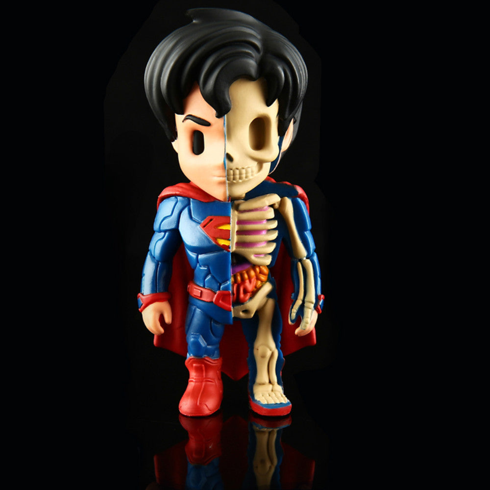 XXRay Superman by Jason Freeny x Mighty Jaxx - Mindzai  - 1