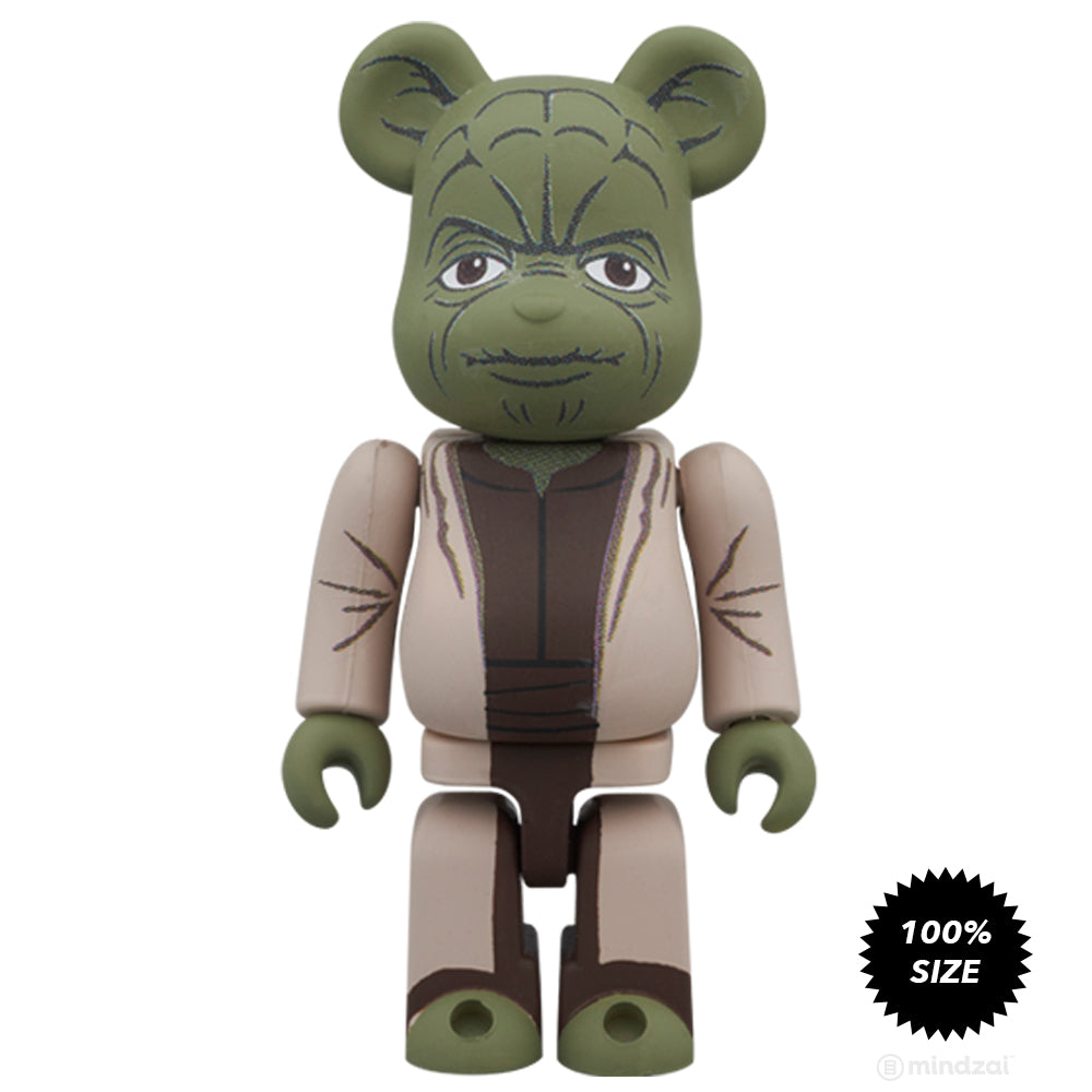 Star Wars Bearbrick: Yoda and Clone Trooper 100% Figure 2-Pack Set by Medicom Toy