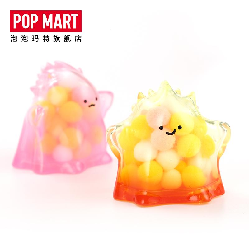 Yuki Sofubi Kaiju Transparent Series #1 Blind Box by Lang x POP MART