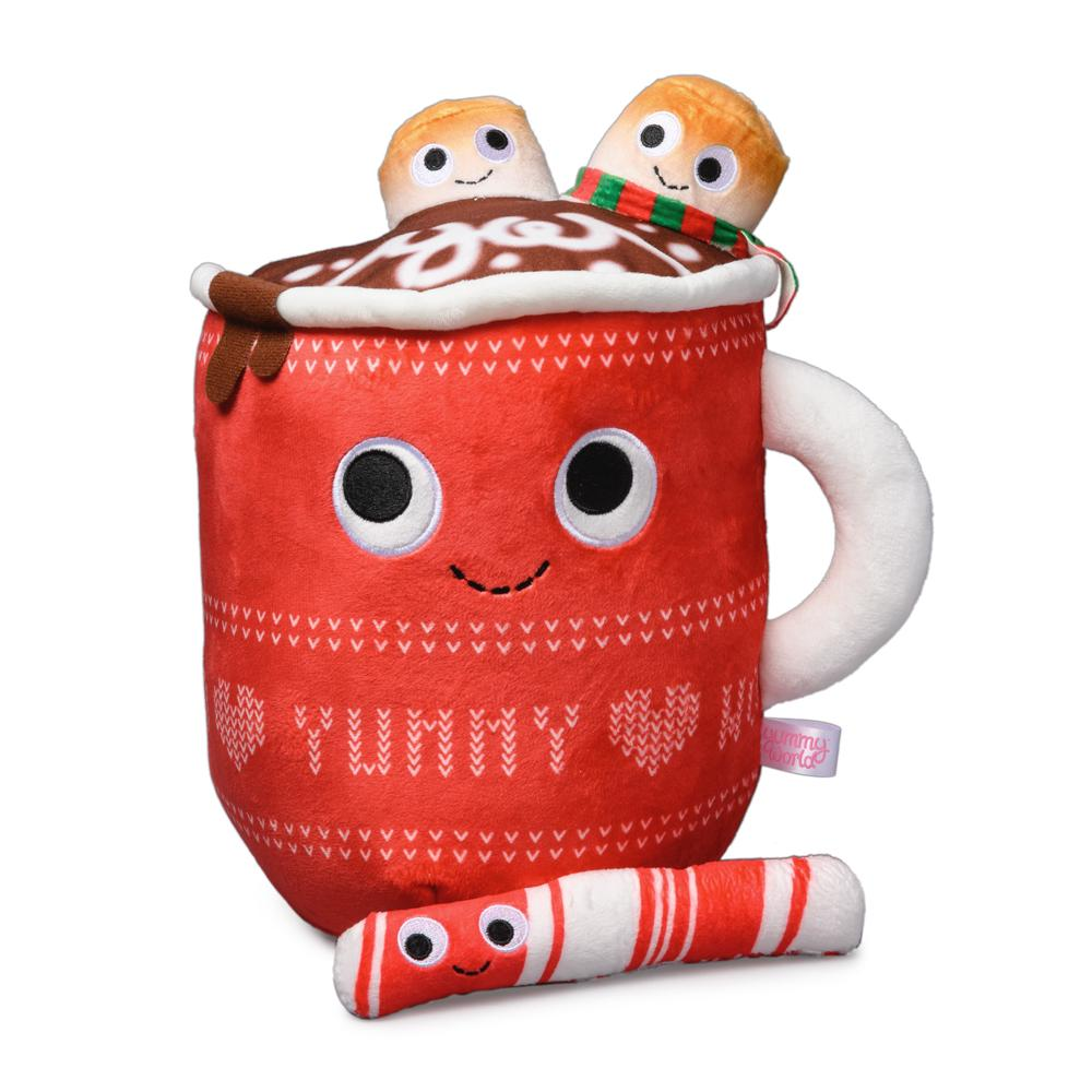 Yummy World Judy Hot Cocoa Medium Plush With Marshmallows & Peppermint Stick