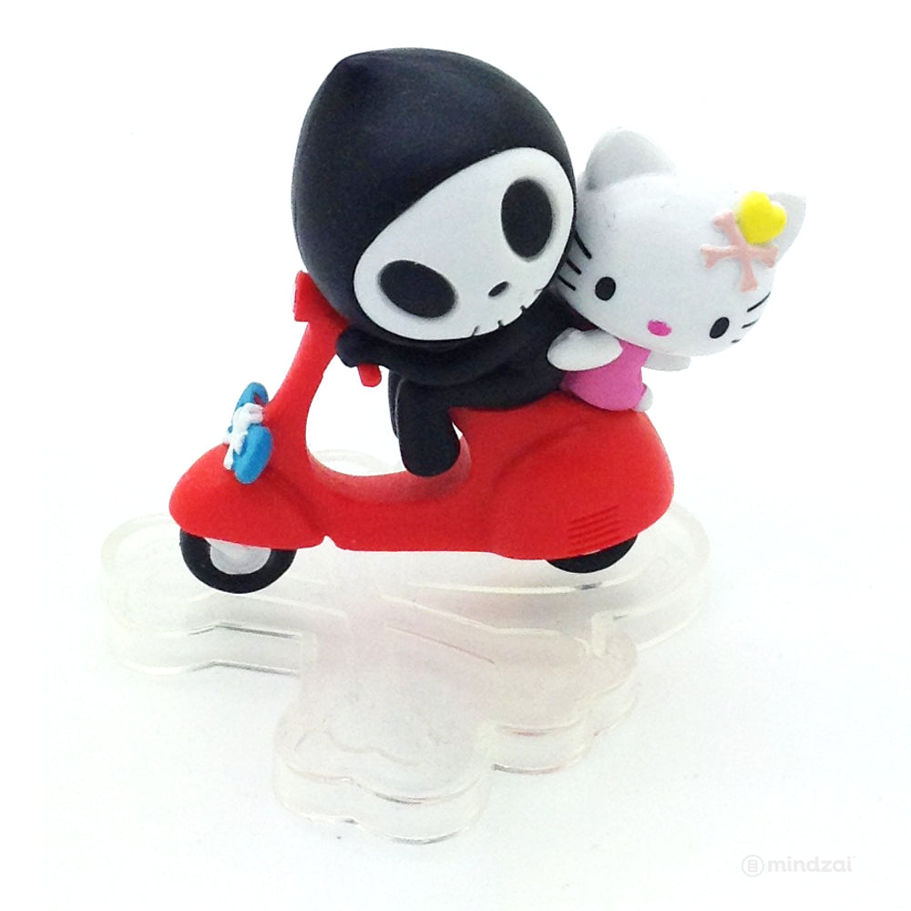 Tokidoki Adios and Hello Kitty on Scooter - Hong Kong Exclusive