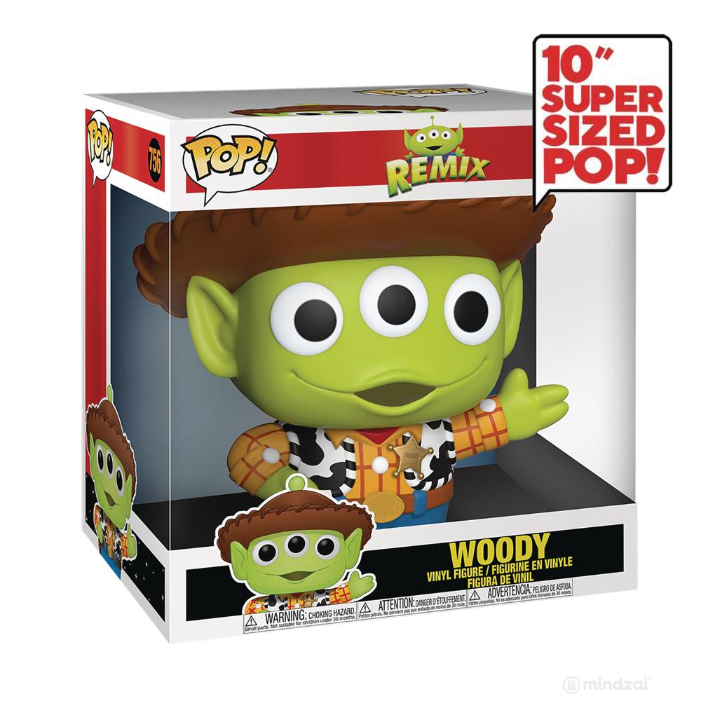 Alien Remix: Woody 10-inch POP Toy Figure by Funko