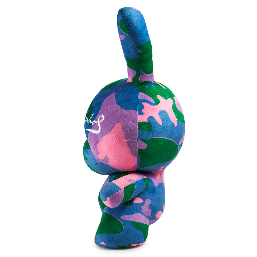 "Andy Warhol 20"" Camo Plush Dunny by Kidrobot- Pre-Order"