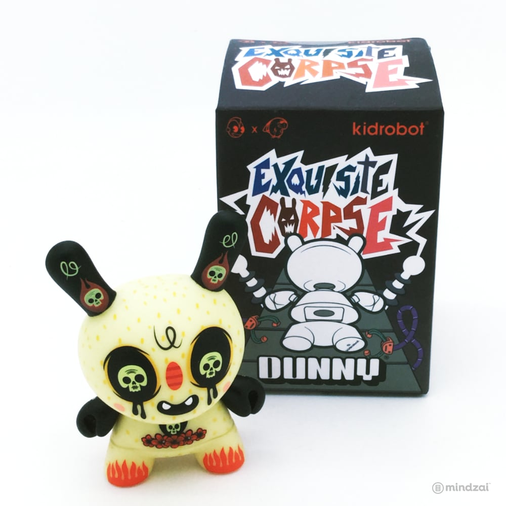 Exquisite Corpse Dunny Series by Red Mutuca Studios x Kidrobot - Anima