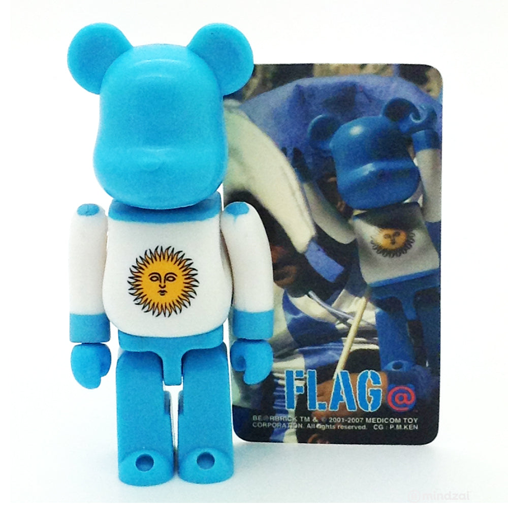 Bearbrick Series 14 - Argentina (Flag) 100% Size