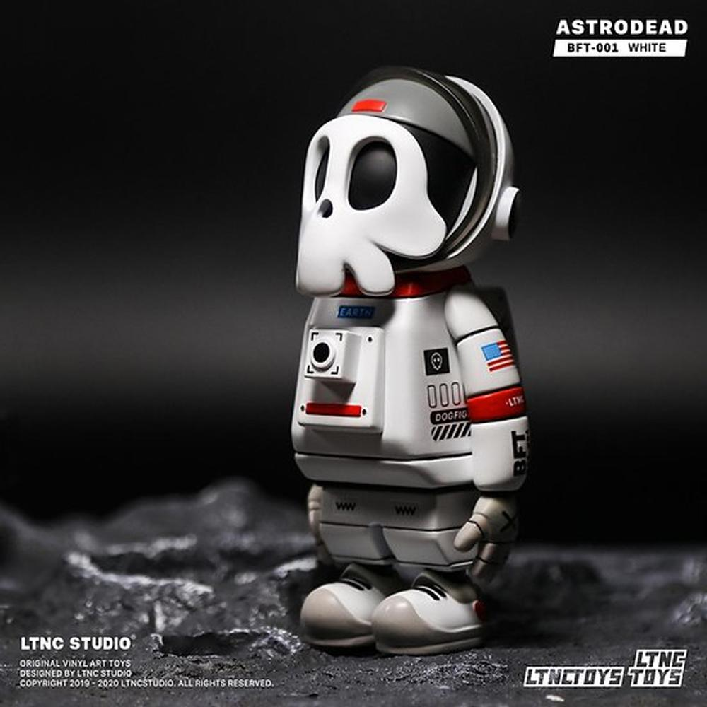 *Pre-order* Astrodead White Art Toy Figure by LTNC Studio