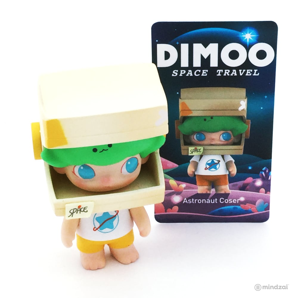 Dimoo Space Travel Blind Box Series by Ayan Tang x POP MART - Astronaut Coser