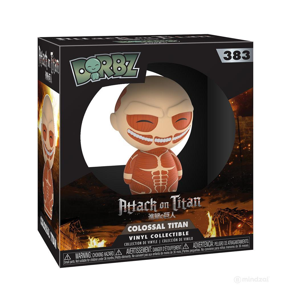 Attack on Titan Colossal Titan Dorbz Vinyl Toy Figure