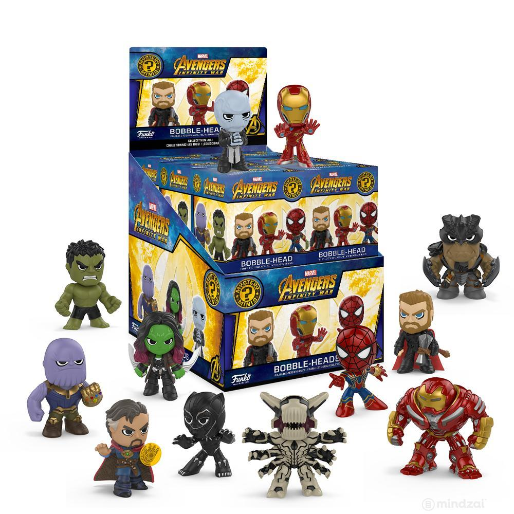 Avengers: Infinity War Bobblehead Mystery Minis Blind Box by Funko x Marvel