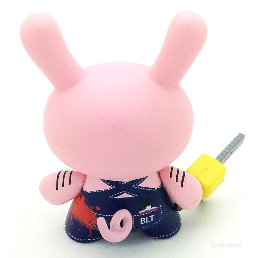 Endangered Dunny Series - Bacon Pig with Chain Saw (Sket One)
