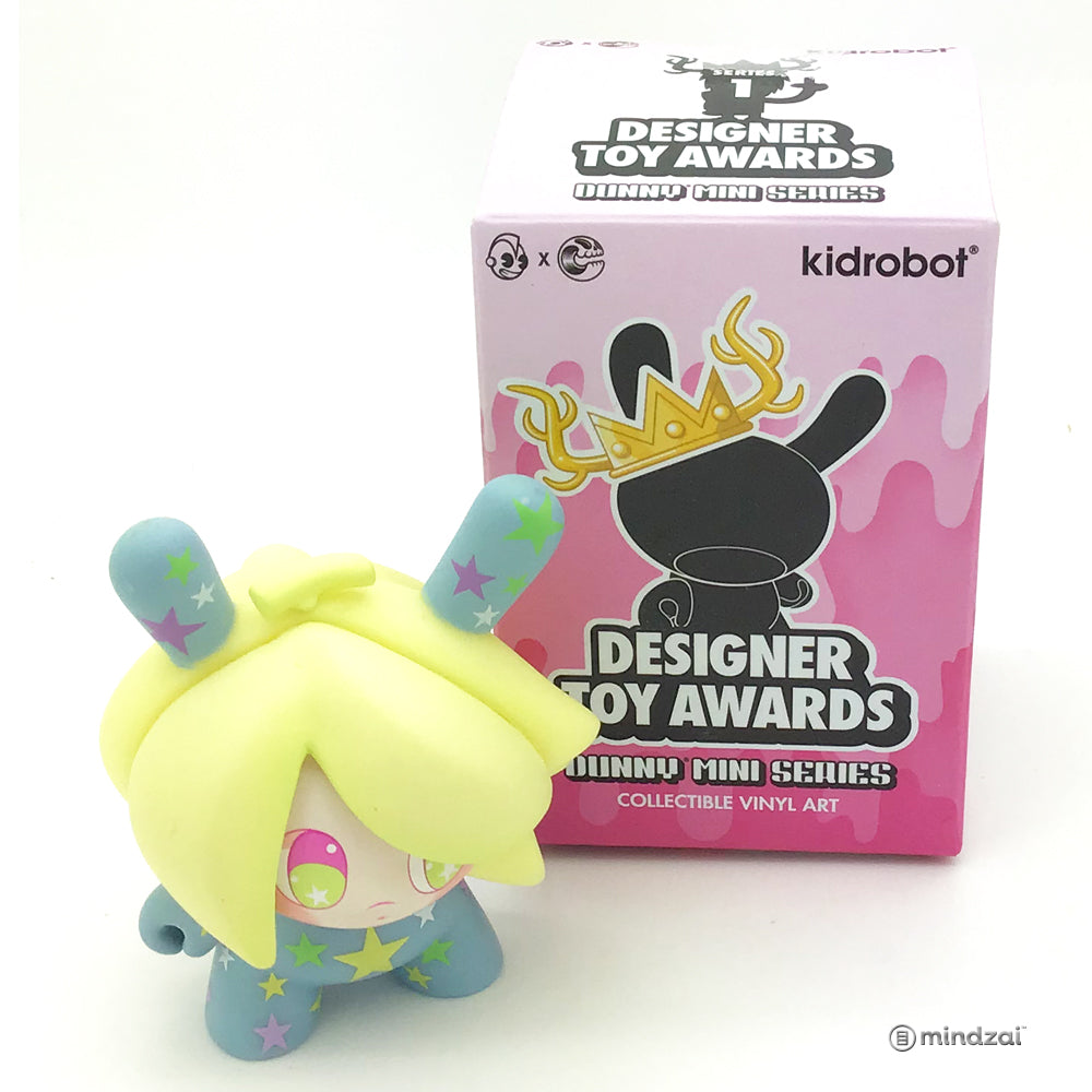 Designer Toy Awards Dunny Blind Box by Kidrobot - Banana Mango Dunny