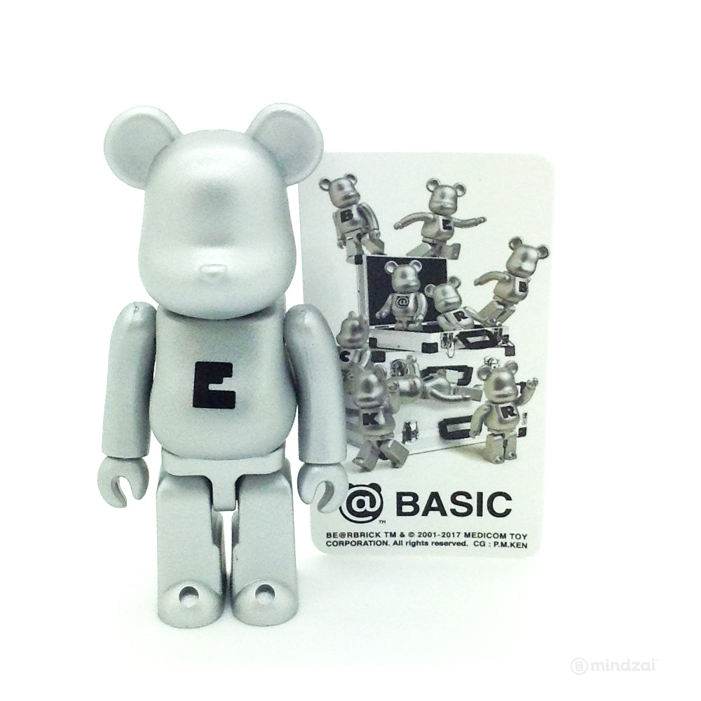 Bearbrick Series 34 - Basic Letter E