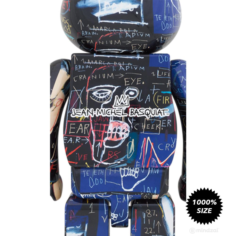 *Pre-order* Jean-Michel Basquiat #7 1000% Bearbrick by Medicom Toy