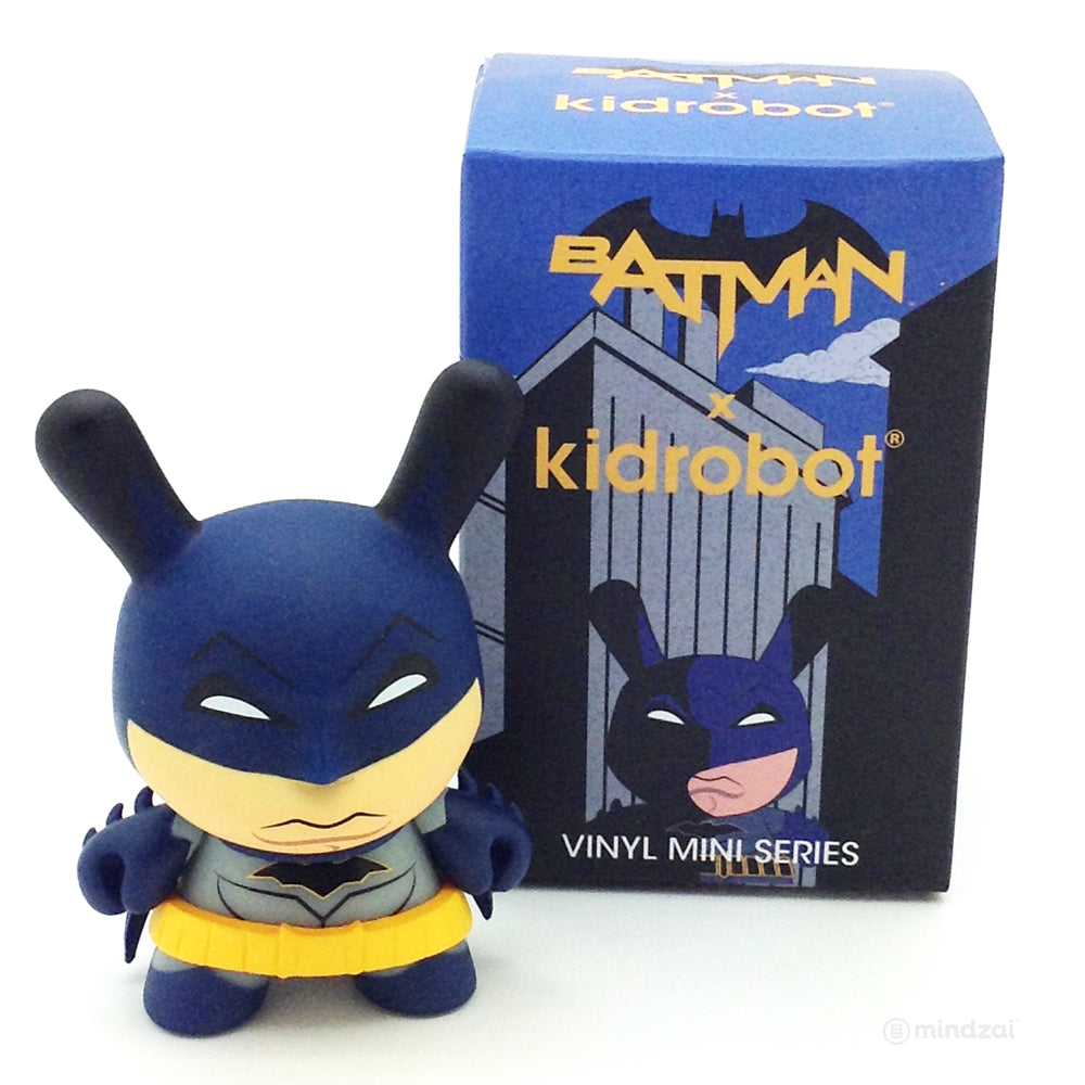 DC Batman Dunny Blind Box Mini Series by Kidrobot - Batman