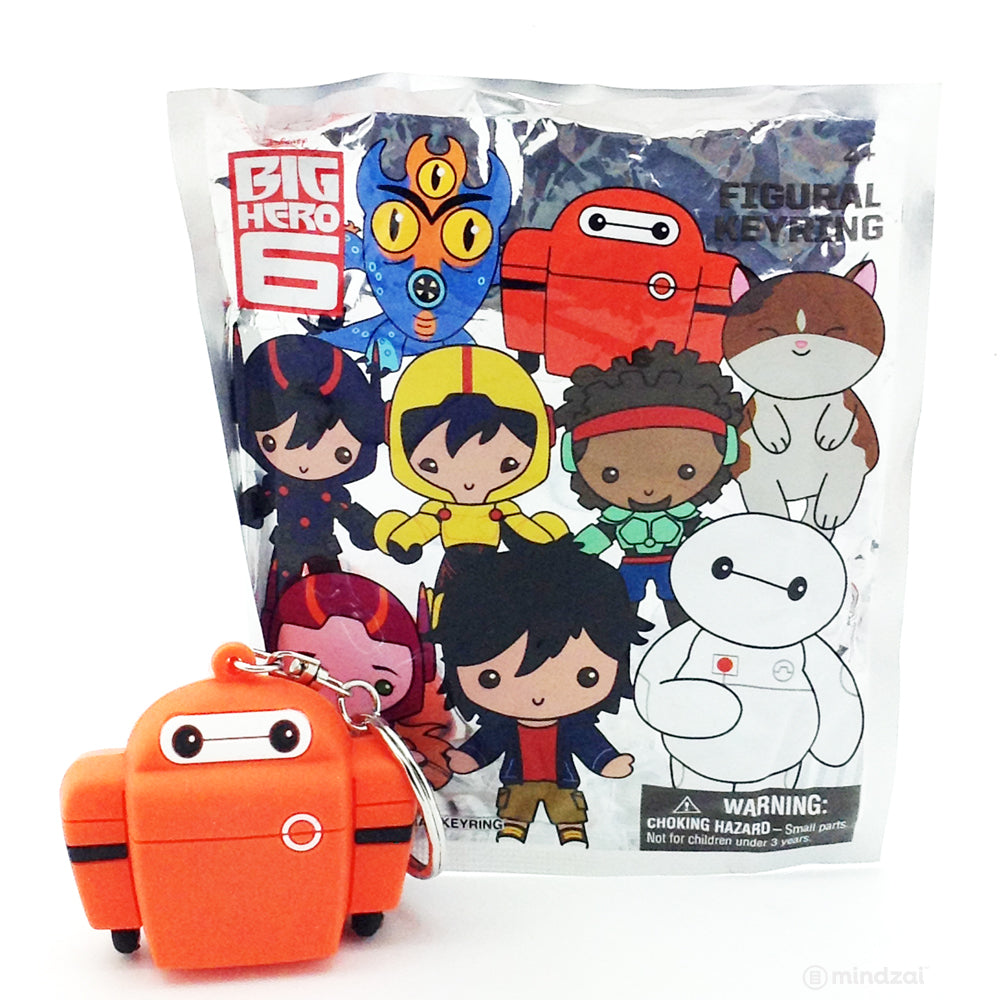 Big Hero 6 Figural Keychain Blind Bag - Baymax Red Armour
