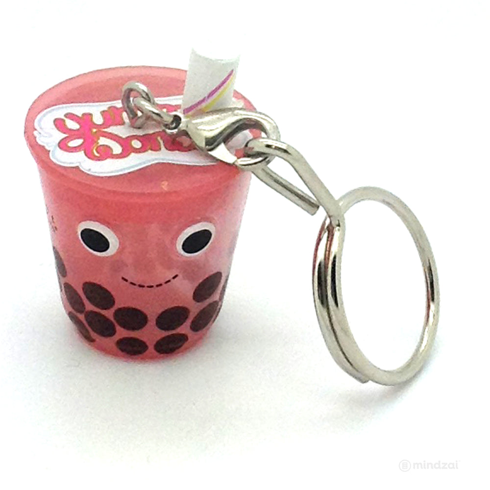 Yummy World Sweet and Savory Blind Bag Keychain Series - Berry Boba Bubble Tea