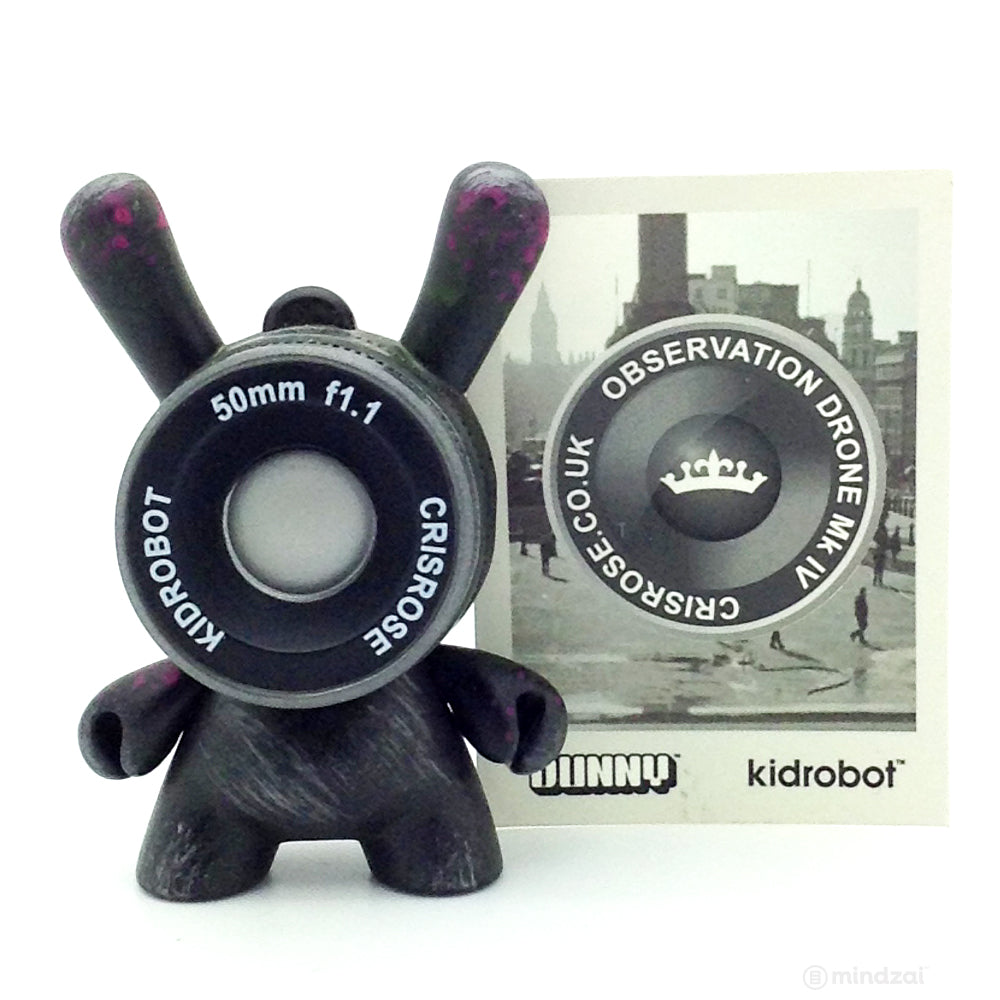 Side Show Dunny Series - Black Observation Drone (Chase)