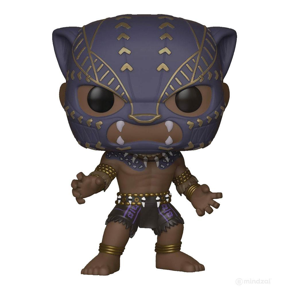 Black Panther Black Panther Warrior Falls POP! Vinyl Figure by Funko