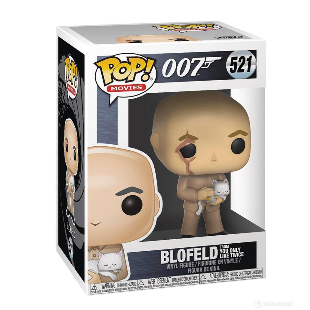 James Bond Blofeld Pop! Vinyl Figure by Funko