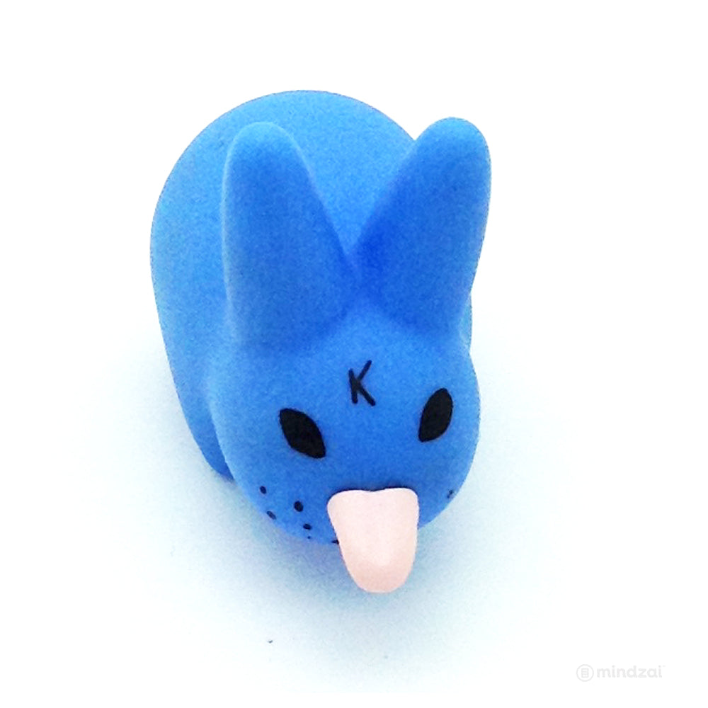 Smorkin' Labbit Series 4 - Blue Labbit Stick out Tongue